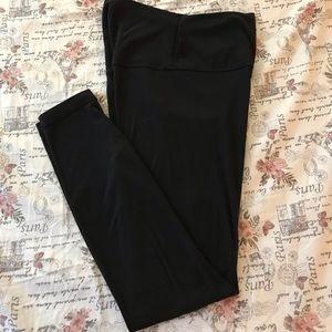 Black lululemon leggings